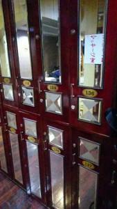 台湾 サウナ ロッカー